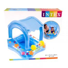 FLOTADOR BABY INTEX 81cmX66cm