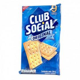 GALLETA CLUB SOCIAL NABISCO 9UND 234gr
