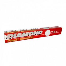 PAPEL ALUMINIO DIAMOND 25 SQ