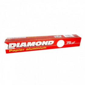 PAPEL ALUMINIO DIAMOND 75 SQ