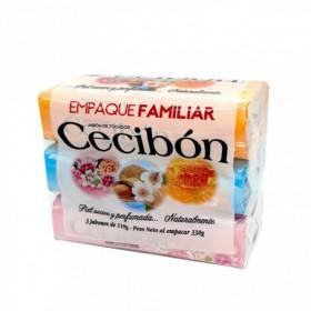 JABON TOC ORIGINAL CECIBON 3pcs 110gr