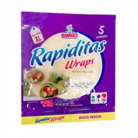 RAPIDITAS WRAPS BIMBO 320G