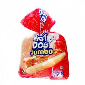PAN HOT DOG JUMBO AJONJOLI 8P 612G
