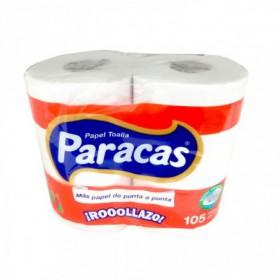 PAPEL TOALLA PARACAS 105HOJAS 2und