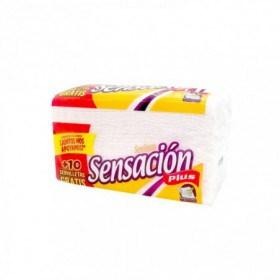 SERVILLETA PLUS SENSACION 8pcs