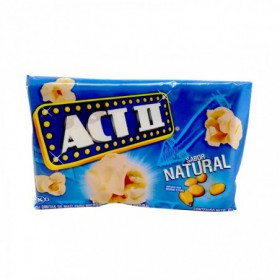 POP CORN  ACT II NATURAL 91g