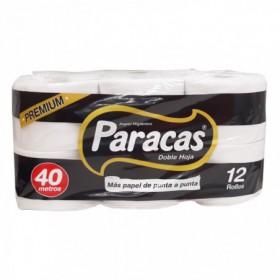 PAPEL HIGIENICO DH PARACAS 12und
