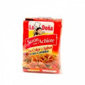 ACHIOTE SAZON 5 SOBRES LA DOÑA 100und