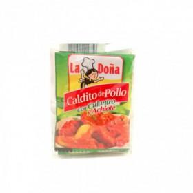 CALDO DE POLLO ACHIOTE Y CULANTRO 10gr