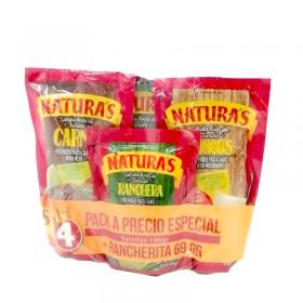 SALSAS SURTIDAS NATURAS 3pk 106gr+69gr