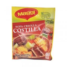 SOPA CRIOLLA COSTILL MAGGI 58G