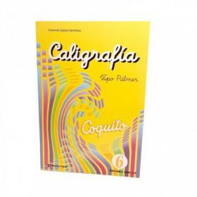 LIBRO DE CALIGRAFIA COLECCION 6