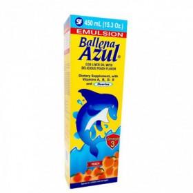 BALLENA AZUL MELOCOTON 450ML