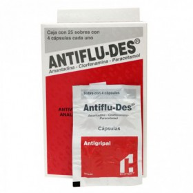 ANTIFLU-DES DISP X 100 CAPS