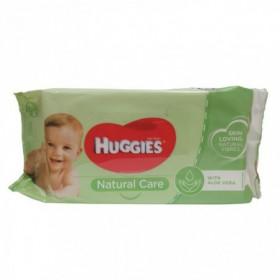 TOALLA HUMEDA NATURAL CARE HUGGIES 56 S