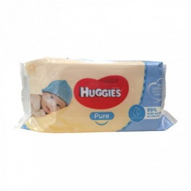 TOALLA HUMEDA PURE HUGGIES 56 S