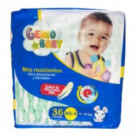 PAÑALES DESECHABLES XL GENIO BABY