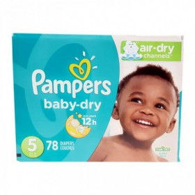 PAÑALES PAMPERS BABY DRY CAJA TALLA 5