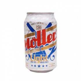 CERVEZA PREMIUM LIGHT MULLER 330ml