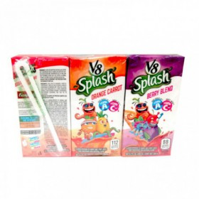 JUGO 6PACK B2S V8 SPLAH 200ml