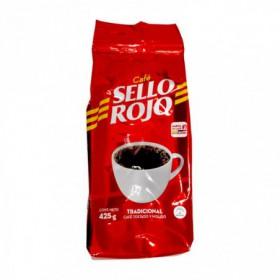 CAFE MOLIDO TRADICIONAL SELLO ROJO 425gr