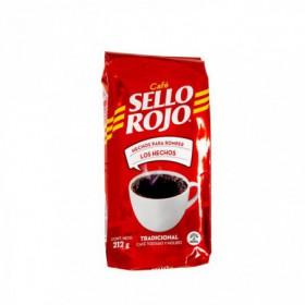 CAFE MOLIDO TRADICIONAL SELLO ROJO 212gr