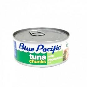 ATUN TROZ/VEG BLUE PACIFI 140G