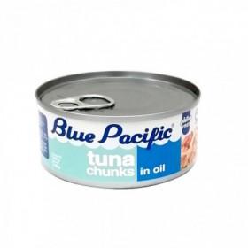 ATUN TROZOS ACEITE BLUE PACIFIC 140gr
