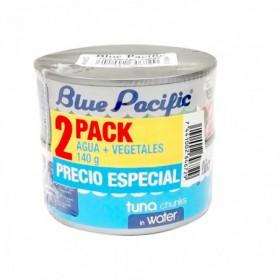 ATUN TROZOS BLUE PACIFIC 2pk 140gr