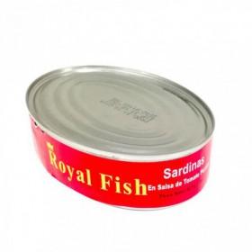 SARDINA PICANTE  ROYAL FISH OVAL 425G