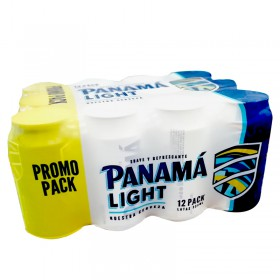 CERVEZA PANAMA LIGHT 12PACK