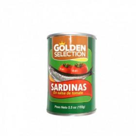 SARDINA SALSA TOM GOLDEN SELECTION 155gr
