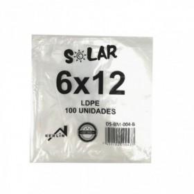 BOLSA TRANSPAR SOLAR 6X12