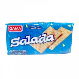 GALLETA SODA SALADA GAMA 8PAQ