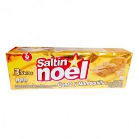 GALLETA SALT QUESO MANTQ NOEL 385gr
