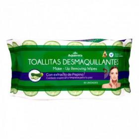 TOALLITAS DESMAQUILL PEPINO 80