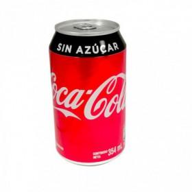 GASEOSA S/AZUCAR COCACOLA 355ml
